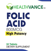 Folic Acid-High Potency Dietary Supplement