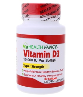 Vitamin D3 10000 IU Softgel